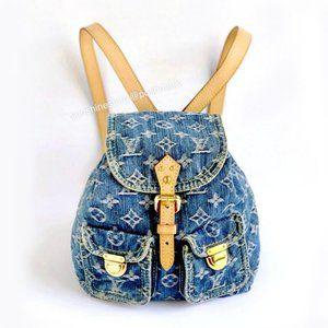 Louis Vuitton Monogram Denim Backpack